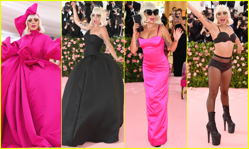 Lady Gaga Wows in FOUR Epic Looks at Met Gala 2019