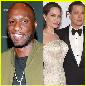 Lamar Odom Says He Had a Double Date with Angelina Jolie & Brad Pitt