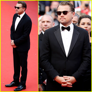 Leonardo DiCaprio Suits Up For 'Oh Mercy!' Premiere at Cannes Film Fest