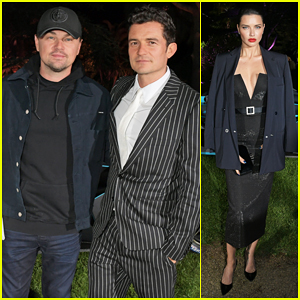 Leonardo DiCaprio & Orlando Bloom Buddy Up To Celebrate Formula E Film Launch!
