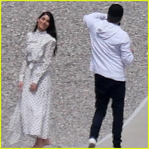 Leonardo DiCaprio Snaps Photos of Girlfriend Camila Morrone in Cannes!