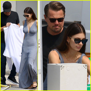 Leonardo DiCaprio & Camila Morrone Couple Up For Yacht Ride in Cannes