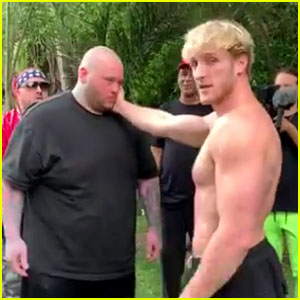 YouTuber Logan Paul Slaps a Man Unconscious & Pulls Out of Slapping Competition - Watch