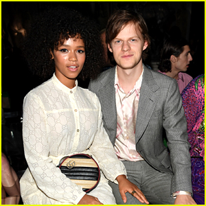 Lucas Hedges & Girlfriend Taylor Russell Couple Up at Gucci Show in Rome!