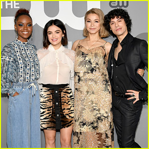 Lucy Hale & 'Katy Keene' Cast Join Their CW Family for Upfronts Presentation!