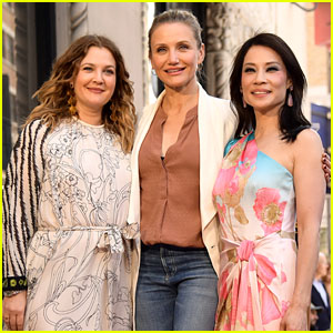 Lucy Liu Has a 'Charlie's Angels' Reunion With Drew Barrymore & Cameron Diaz at Hollywood Walk of Fame Ceremony!