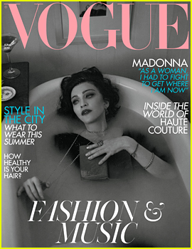 Madonna Covers 'British Vogue,' Explains Why She Has No Living Role Models