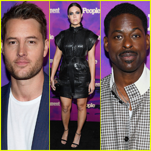 Mandy Moore Joins Justin Hartley & Sterling K. Brown at Upfronts Party!