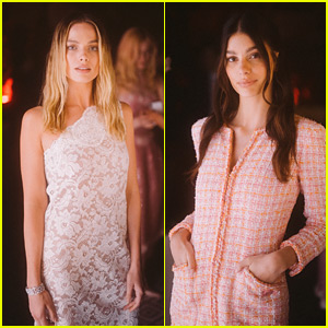 Margot Robbie, Camila Morrone, & More Attend Chanel Dinner During Cannes