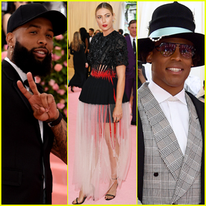 Maria Sharapova Joins Odell Beckham Jr & Cam Newton at Met Gala 2019