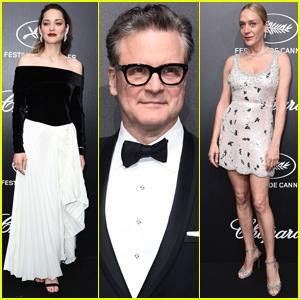 Marion Cotillard, Colin Firth, & Chloe Sevigny Attend Trophee Chopard Dinner