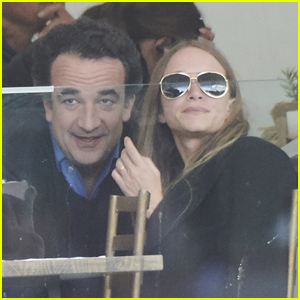 Mary-Kate Olsen & Husband Olivier Sarkozy Attend Longines Global Champions Tour 2019
