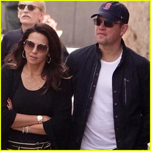 Matt Damon & Wife Luciana Vacation with Friends in Italy!