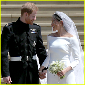Meghan Markle & Prince Harry Share Previously Unreleased Wedding Pictures to Celebrate One Year Anniversary!