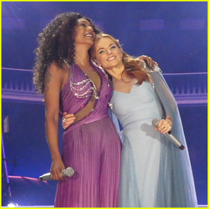 Mel B & Geri Halliwell Embrace at Spice Girls Concert Despite Recent Drama