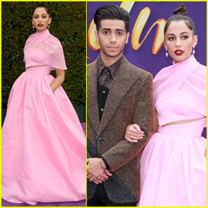 Mena Massoud & Naomi Scott Arrive in Style for 'Aladdin' Premiere in Hollywood!