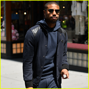 Michael B. Handsome Looks Handsome While Visiting the Coach Flagship Store in NYC