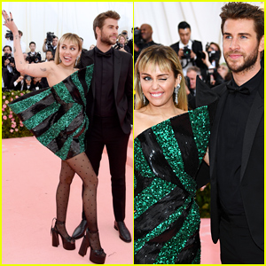Miley Cyrus & Liam Hemsworth Look Picture Perfect at Met Gala 2019