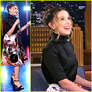 Millie Bobby Brown Delivers Amazing Amy Winehouse Impression
