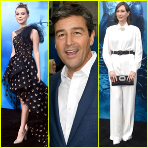 Millie Bobby Brown, Kyle Chandler, & Vera Farmiga Attend 'Godzilla: King of Monsters' Premiere!