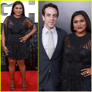Mindy Kaling is Supported by B.J. Novak at 'Late Night' Premiere!