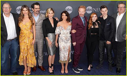 Modern Family' Cast Celebrates Final Season at ABC Disney