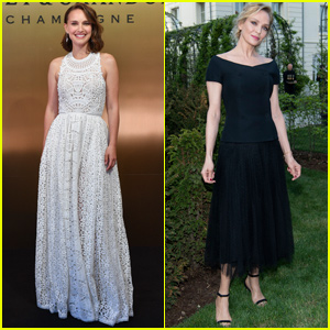 Natalie Portman & Uma Thurman Get Glam For Moet Imperial 150th Anniversary Party!