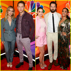 NBC's Stars From Returning Shows Attend 2019 Upfronts!