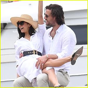 Nina Dobrev Flaunts PDA with Boyfriend Grant Mellon in Cannes!