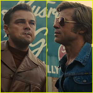 Leonardo DiCaprio & Brad Pitt Star in 'Once Upon a Time in Hollywood' Trailer- Watch!
