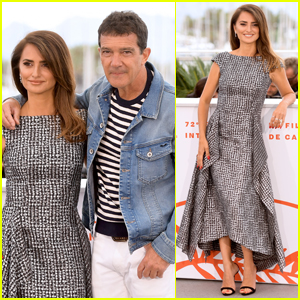 Penelope Cruz & Antonio Banderas Attend 'Pain & Glory (Dolor Y Gloria)' Photo Call at Cannes 2019!