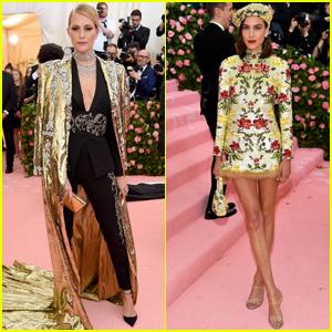5ad947201 Poppy Delevingne & Alexa Chung Sparkle at Met Gala 2019 | 2019 Met ...