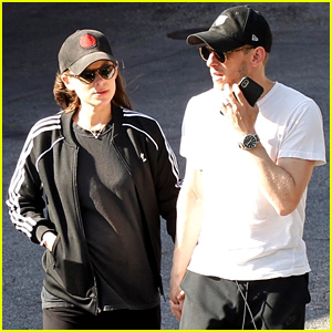 Pregnant Kate Mara & Jamie Bell Step Out After Buying New Los Feliz Home