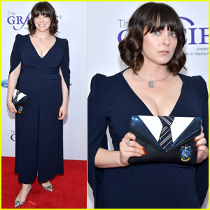 Rachel Bloom Shares Her Hogwarts House While Stepping Out For Gracies Awards