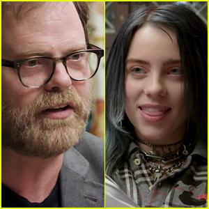 Rainn Wilson Tests Billie Eilish's Knowledge of 'The Office' in Hilarious Quiz - Watch!