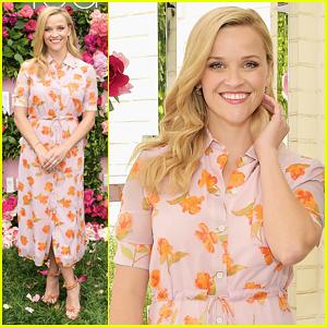 Reese Witherspoon Hosts Elizabeth Arden Garden Party!