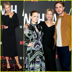 Renée Zellweger Celebrates Premiere of New Netflix Series, 'What/If!