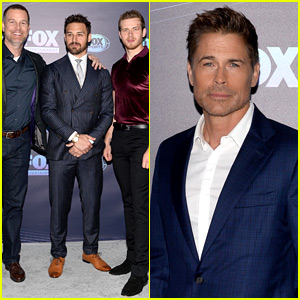 Rob Lowe Joins His New '9-1-1' Family at Fox Upfronts!