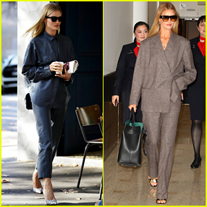 Rosie Huntington-Whiteley Goes Business-Chic During Australia Fashion Week