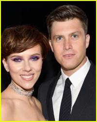 Scarlett Johansson & Colin Jost Celebrated Their Engagement in Upstate New York Last Week!