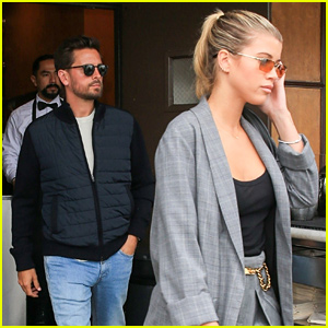 Scott Disick & Sofia Richie Couple Up for Beverly Hills Lunch Date