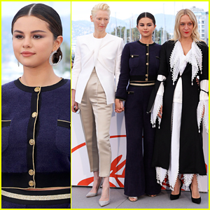 Selena Gomez Joins 'The Dead Don't Die' Cast at Cannes Film Festival Photo Call!