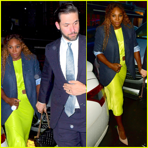 Serena Williams & Alexis Ohanian Couple Up for Anna Wintour's Pre-Met Gala Dinner!