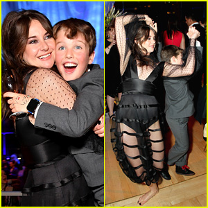 Shailene Woodley & 'Big Little Lies' Son Iain Armitage Showed Off Their Dance Skills at the Premiere