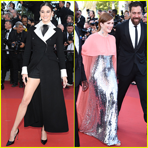 Shailene Woodley & Julianne Moore Support Films at Cannes Film Festival Premieres!