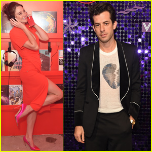 Shailene Woodley & Mark Ronson Celebrate Scarlet Night in London