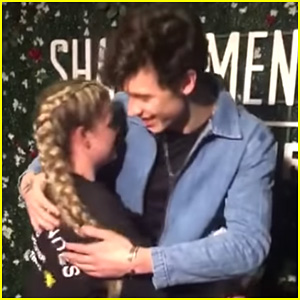 Shawn Mendes Surprises Fan at Manchester Arena Concert Who Was Still Shaken From The Manchester Attacks Two Years Ago