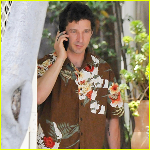 Shia LaBeouf Steps Out in a Hawaiian Shirt While Out & About in LA
