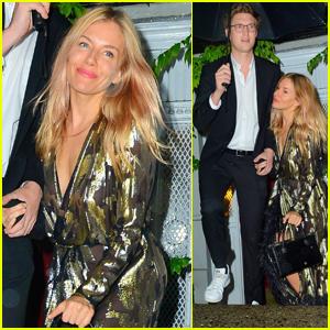 Sienna Miller & Boyfriend Lucas Zwirner Attend Anna Wintour's Pre-Met Gala Dinner
