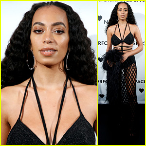 Solange Knowles Strikes a Pose While Hosting Performance Space New York's Spring Gala 2019!